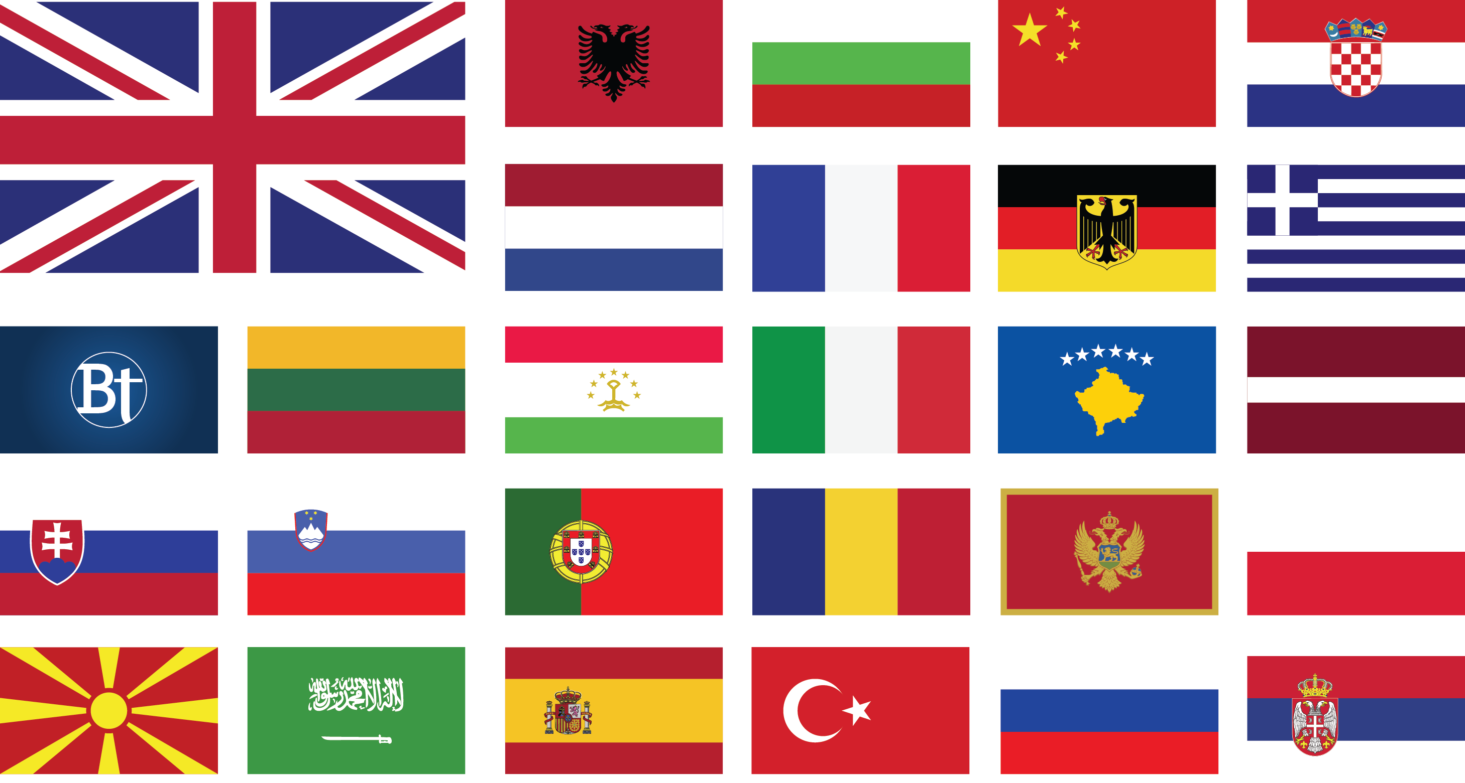 britania translation flags